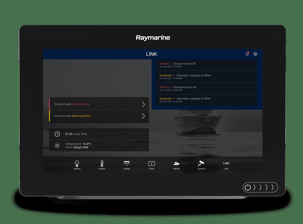 LINK Display app alerts interface